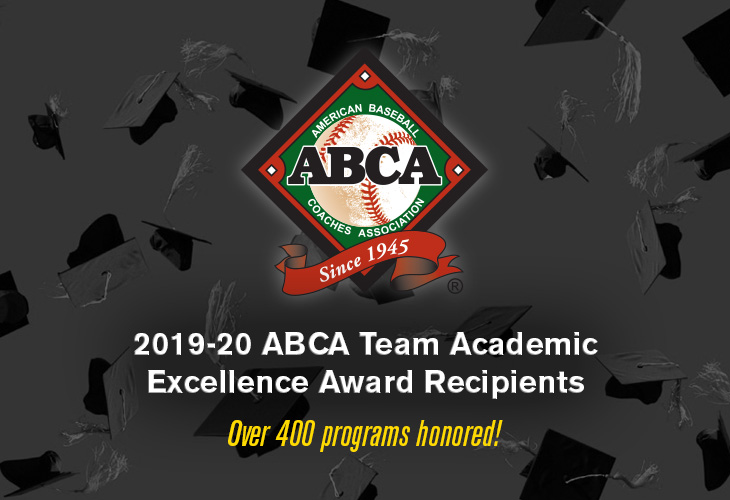 2019-20 ABCA Team Academic Excellence Award