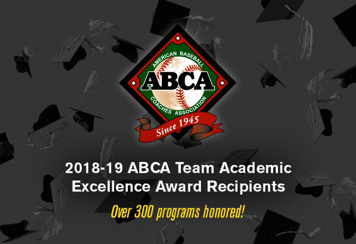 2018-19 ABCA Team Academic Excellence Award