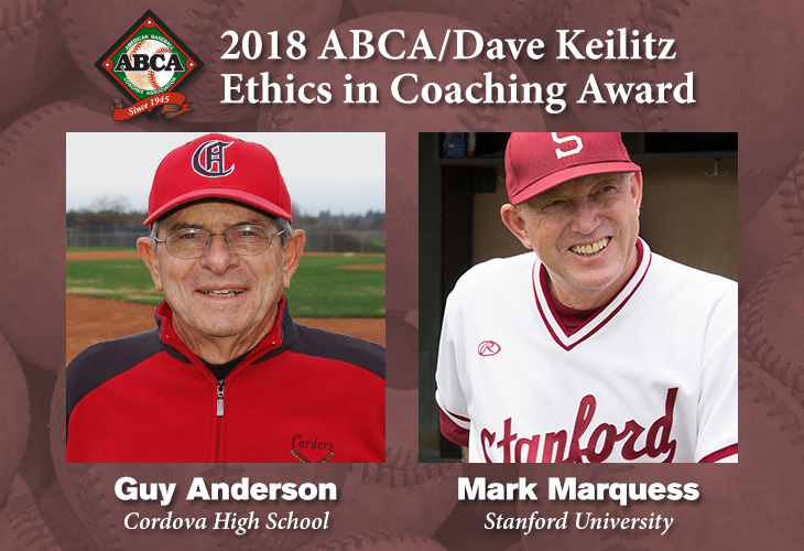 2018 ABCA/Dave Keilitz Ethics in Coaching Award
