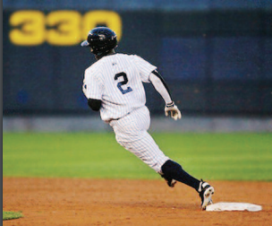 Player Running Bases